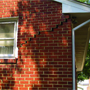 external wall cracking | inspection report