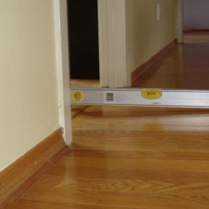 Uneven floors house inspections melbourne