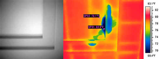 thermal imaging house inspection melbourne
