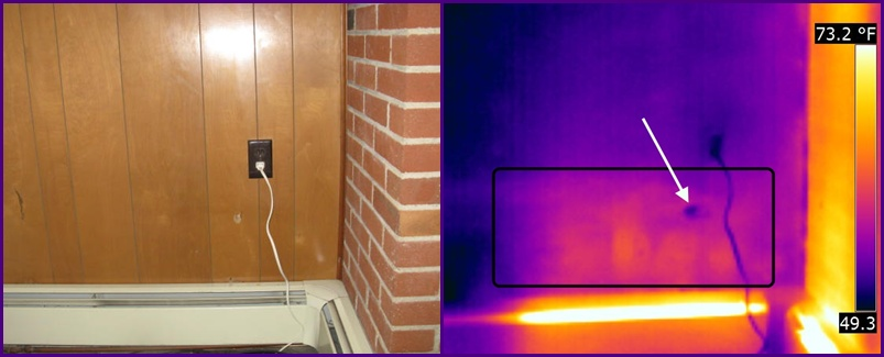 thermal imaging melbourne house inspection